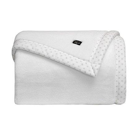 Cobertor Manta Blanket 700 Casal Branco  - Kacyumara