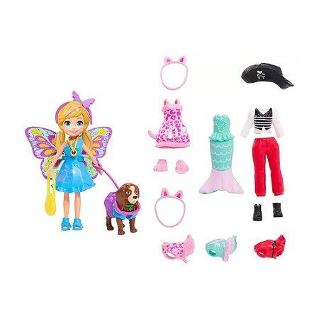 Polly Pocket Kit Cachorro Fantasias Outfit