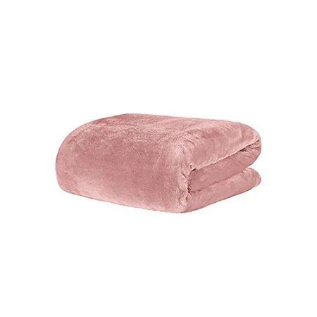 Cobertor Manta Blanket Solteiro 300g Rose Bride - Kacyumara