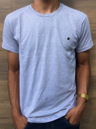Camiseta Basica Cinza Mescla