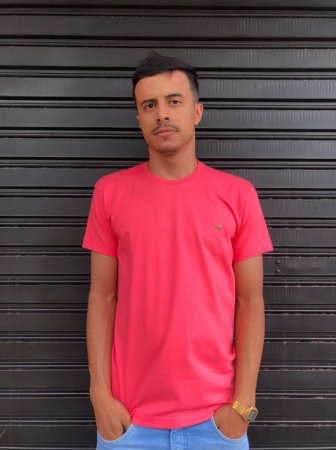 Camiseta Basica Pink