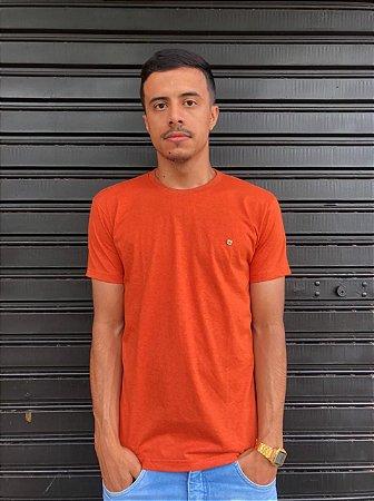Camiseta Basica cor Telha
