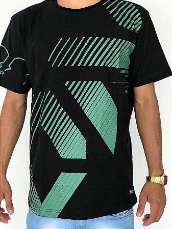 Camiseta Onbongo Estampa Diagonal