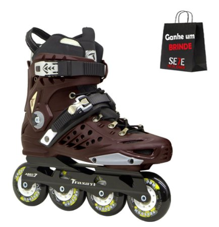 PATINS INLINE FREESTYLE TRAXART FREEDOM - 80MM ABEC-9 CROMO