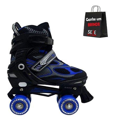 Patins Infanto-Juvenil Traxart Mini Trax Azul