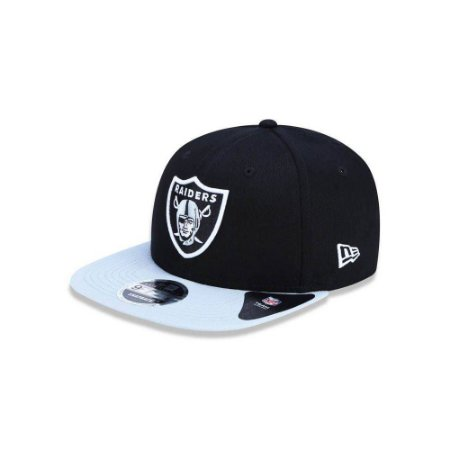 Bone 950 Original Fit Oakland Raiders Nfl Aba Reta Snapback Preto New Era c4c9a0520445c