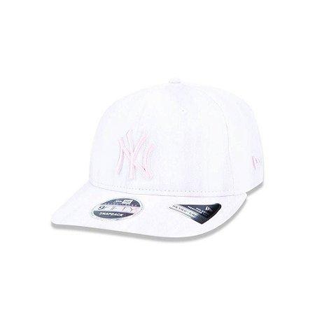 Bone 950 New York Yankees Mlb Aba Reta Pink New Era - 775 Brasil ... 3058b462dc6