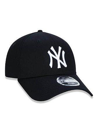 BONÉ 39THIRTY ABA CURVA FECHADO MLB NEW YORK YANKEES BASIC PRETO