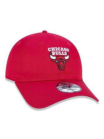 BONÉ ABA CURVA AJUSTÁVEL NBA CHICAGO BULLS BASIC VERMELHO
