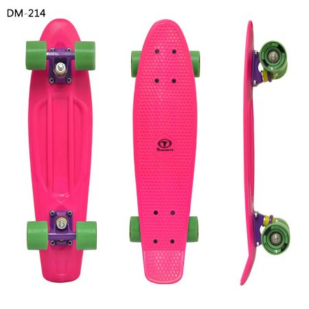 Skate Mini Cruiser Traxart Pink