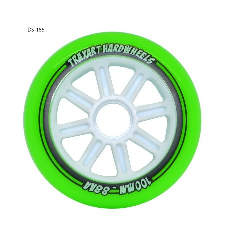 Rodas Fitness Traxart Hardwheels 3 rodas 100mm/88AA