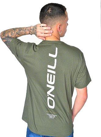 Camiseta Oneill Escrita Costas