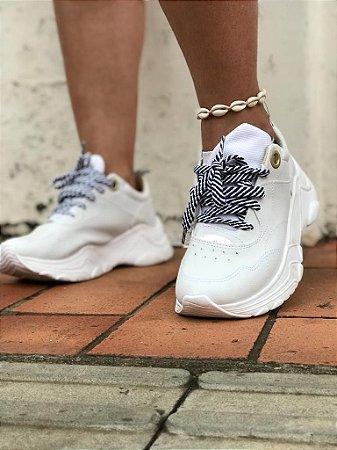 Tênis Capricho Shoes Screen Class Branco