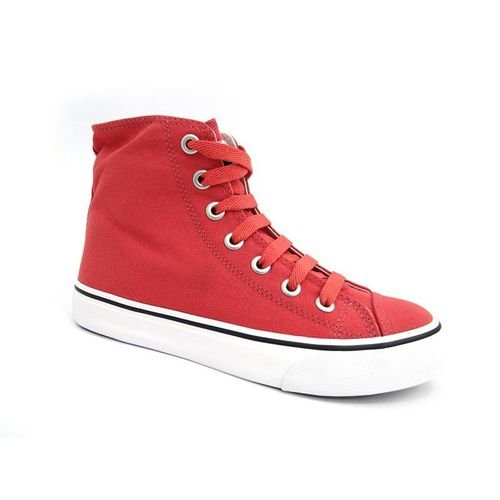 Tênis Capricho Shoes Likes Canvas Hi Rust