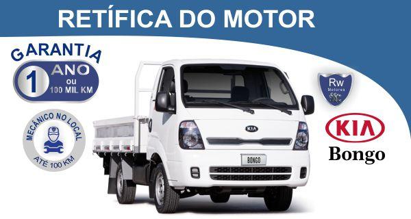 Retífica de motor Kia Bongo K2500 K2700 Pacote Econômico