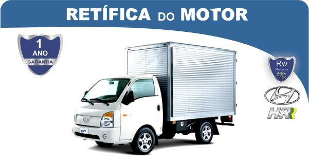 Retífica de motor Hyundai HR Pacote Econômico