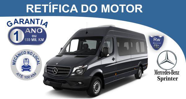 Retífica de motor Mercedes-Benz Sprinter Pacote Econômico