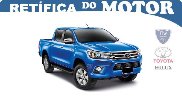 Retífica de Motor Toyota Hilux Pacote Econômico