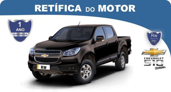 Retífica de motor Chevrolet S10 Turbo Diesel Pacote Econômico