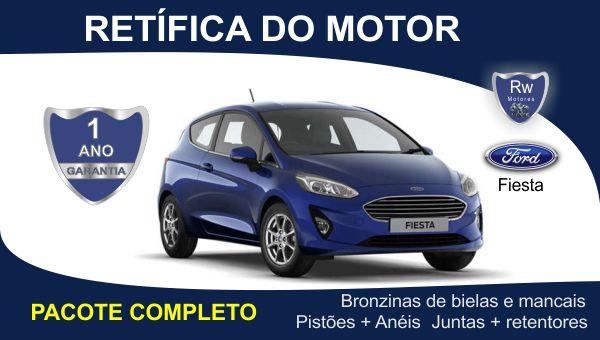 Retífica de motor Ford Fiesta pacote completo