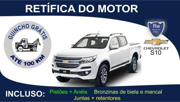 Retífica de motor Chevrolet S10 Turbo Diesel Pacote Completo