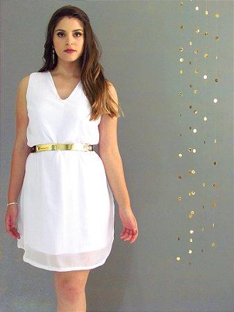 Vestido Crepe - Coleção Festa