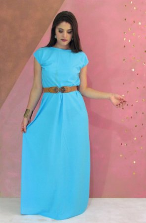 Maxi dress piquet