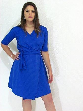 Vestido transpassado