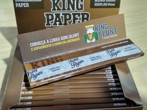 873043833b573 Seda King Paper Caixa 20 Livros 33 Folhas Lançamento - Produtos para ...