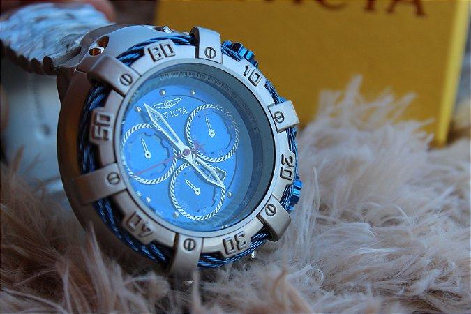 502075da416 Relógio ThunderBolt 100% Metal com calendário Funcional - Produtos ...