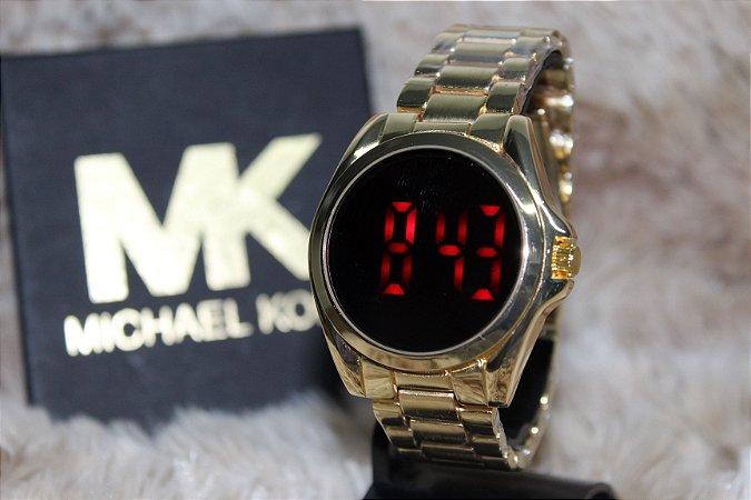 d186326f8e284 Relógio Feminino MK LED
