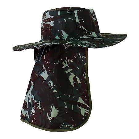 Chapéu com Proteção de Nuca | Pescador, Jardinagem, Camping