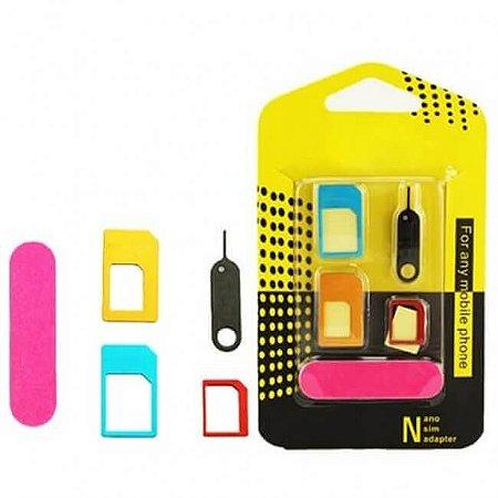 Kit Adaptador de Chip com Lixa