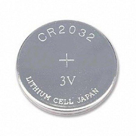 Bateria Cr 2032 Cartela com 5 Unidades Pilha 3v Calculadora Bios Relógio PC NOtebook