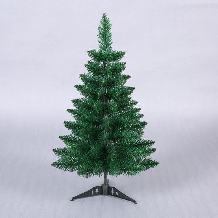 Árvore De Natal Verde 60 Cm Pequena Para Apartamento Casa Escritório - Sem Enfeites Mini Pinheiro Decoração Natalina