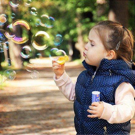 Bolha de Sabão para Criança e Adulto Lembrancinha de Festa Infantil selo Inmetro