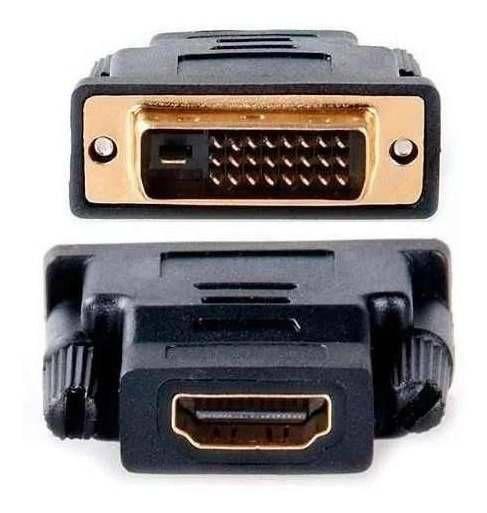 ADATADOR DVI MACHO (24+1) + HDMI FEMEA Lelong LE5509