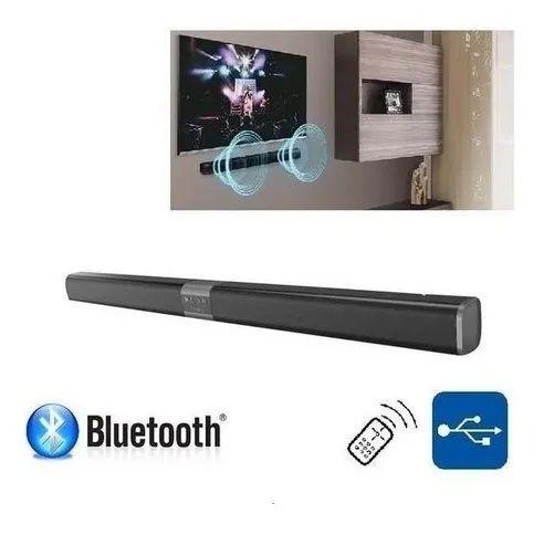 Caixa De Som Soundbar Bluetooth E Auxiliar 80w Rms Controle