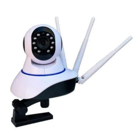 Câmera IP Robô 3 Antenas Ip Wifi rotação 360º 720p Pronta entrega App Yoosee Visão Noturna
