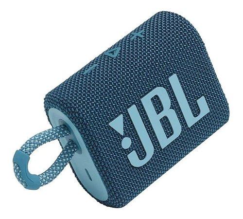 Caixa de som JBL Go 3 portátil Bluetooth - Revendedor Oficial Harman JBL