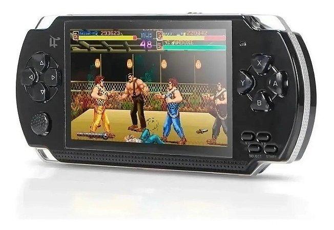 Vídeo Game Portátil com mais de 8000 jogos 32 BIT Player Mp3 Mp4