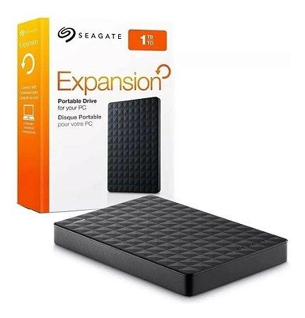 Hd Externo 1tb Seagate Expansion Usb 3.0 Pc Xbox Ps4 Lacrado