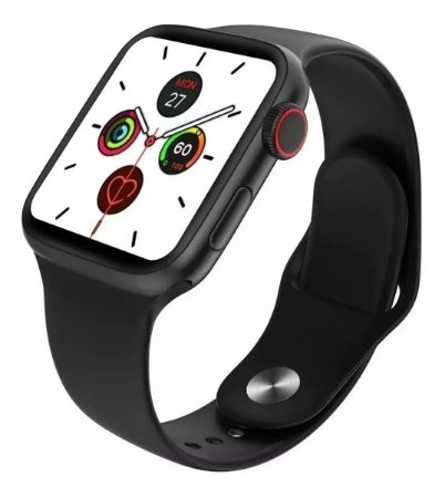 Relógio Inteligente W68 Smartwatch 44mm Iwo12 Lite Original