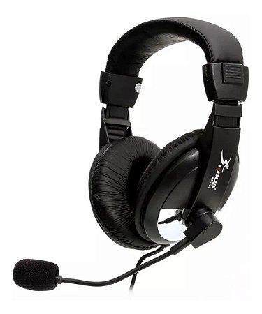 Headset Fone De Ouvido Com Microfone P2 Sound Quality Kp-320