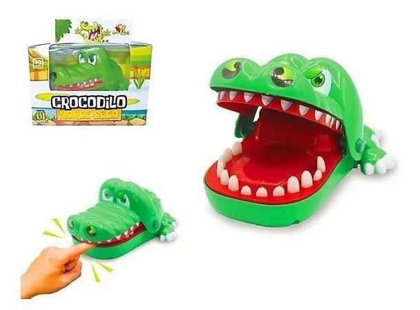 Crocodilo Morde Dedo Brinquedo infantil