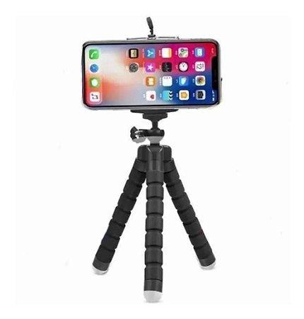 Mini Tripe Celular Camera Mesa Mao Suporta 1kg