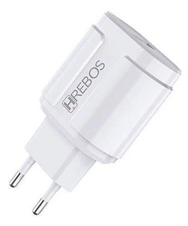 Carregador de parede Fonte HREBOS casa Turbo Power 30 Qualcomm 4.0 HS117
