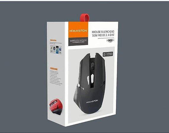 Mouse Gamer Sem Fio Wireless 2.4 Ghz H'maston E1700 Original