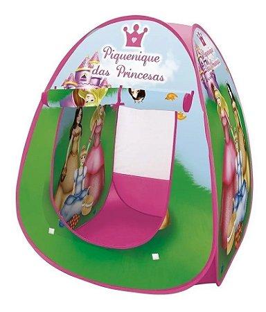 Barraca Infantil Dobrável Tenda Cabana Menina Menino Piquinique das Princesas