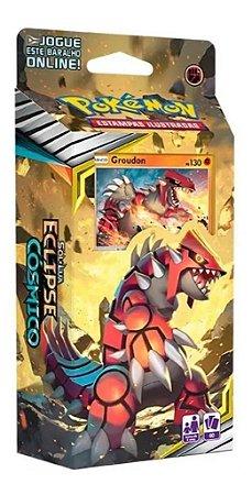 Jogo Carta Baralho Deck Groudon Pokemon Tcg 60 Cards Copag